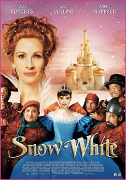 Snow White Mirror Mirror movie poster