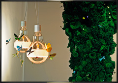 Ingo Maurer Biotope and Schmetterling lighting designs