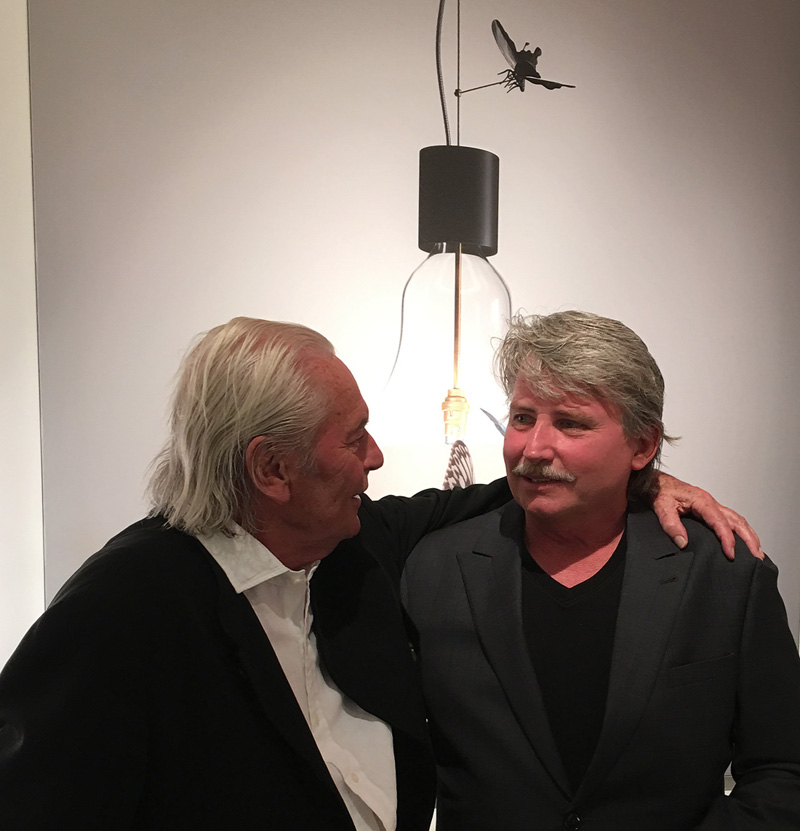 Graham Owen and Ingo Maurer New York City May 2016 NYC X Design SoHo