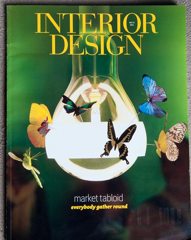 Artistic collaboration ingo maurer and graham owen for Magazine design interieur