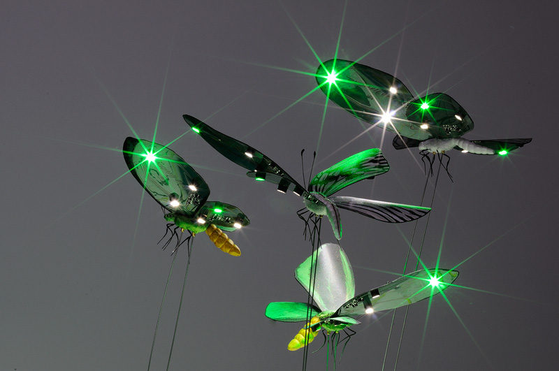 LED Butterflies