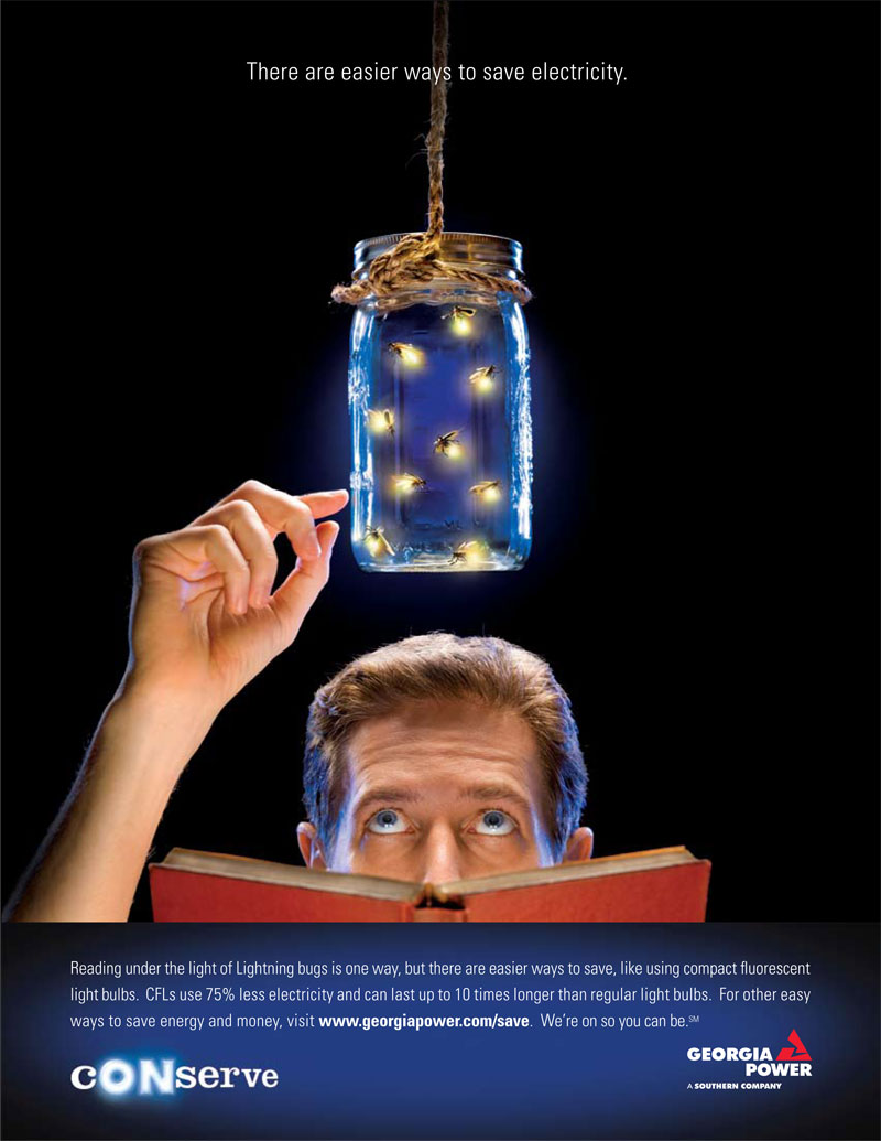 Georgia Power fireflies ad