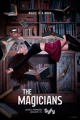 The Magicians Syfy poster