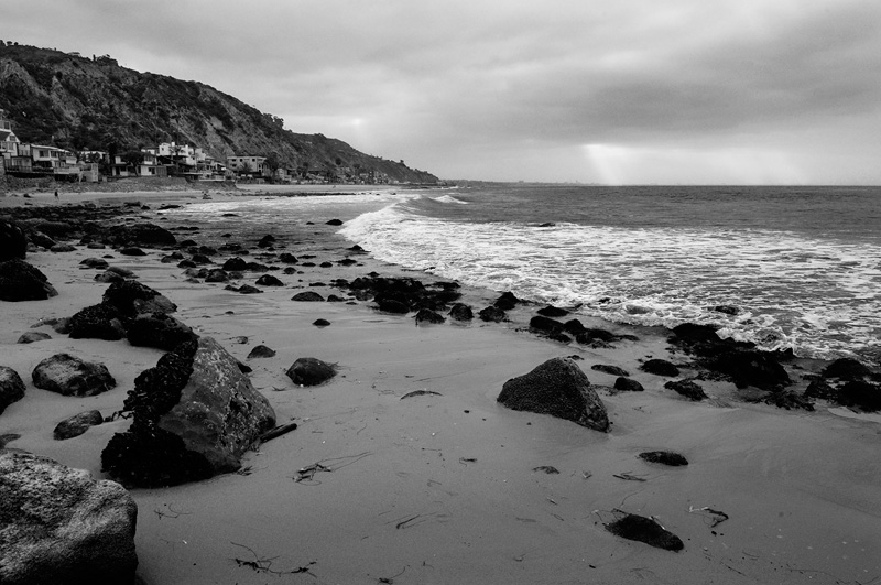 beach landscape photography black and white. malibu beach sunrise black and white landscape photography c