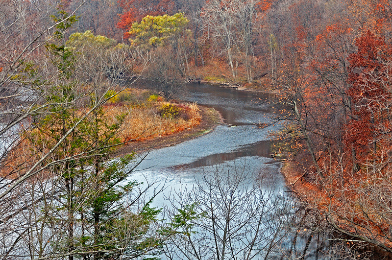 Oak Orchard River, Upstate New York
