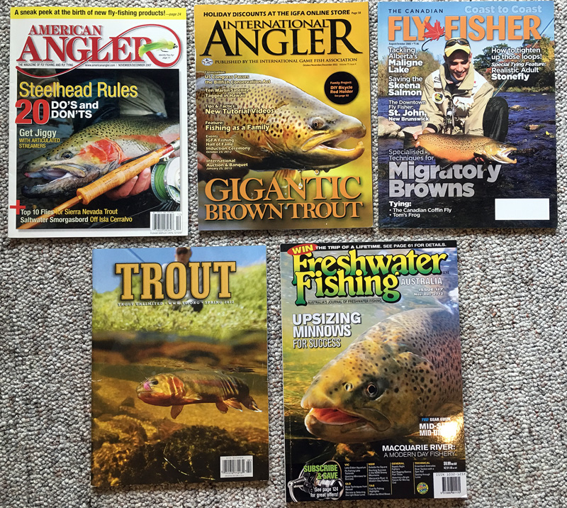 fly fishing photography magazine cover shots