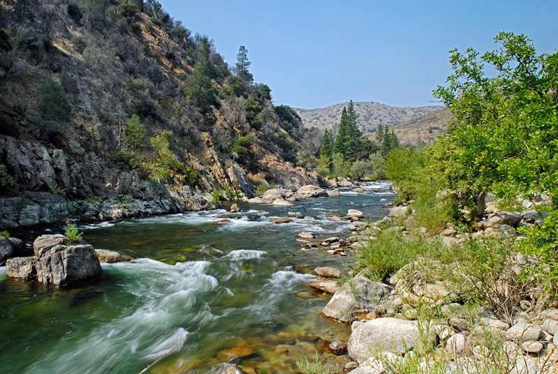 Kern River in the Sierra Nevada Mountains of California